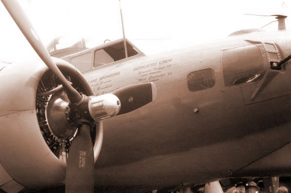 Nose of a B-17