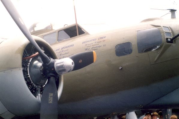 B-17 Outside Cockpit