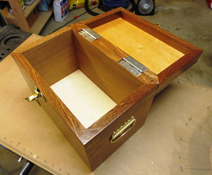 Looking into Open Sapele Box
